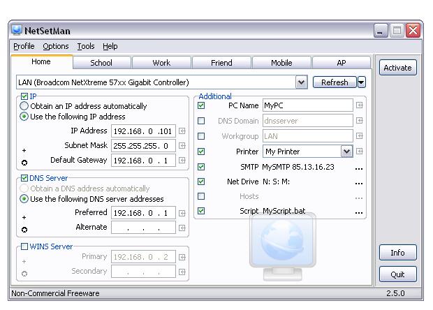 NetSetMan 4.6.1
