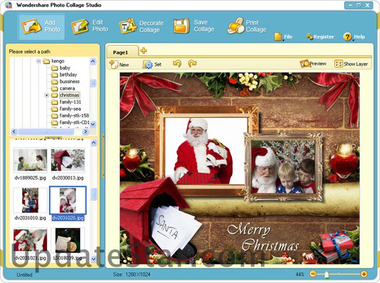 Вы можете созда. collage, photo, можете, templates, Wondershare, Photo, Col