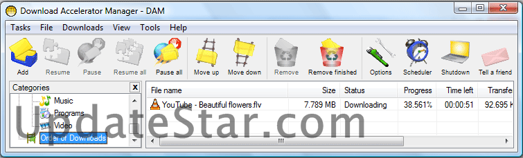 Download Accelerator Manager 4.5.49