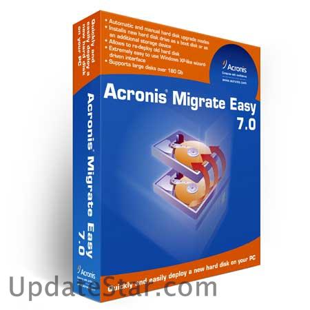 Acronis Migrate Easy 7 + DEMO - Программа для переноса данных - безопасный,