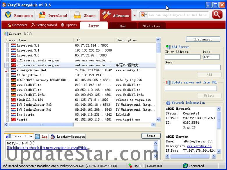 easyMule 1.2.1.110715