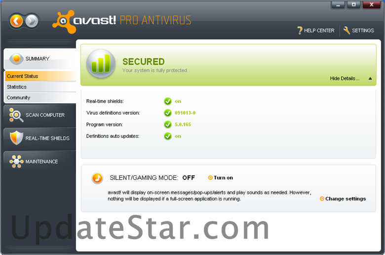 avast! Pro Antivirus 17.7.2314
