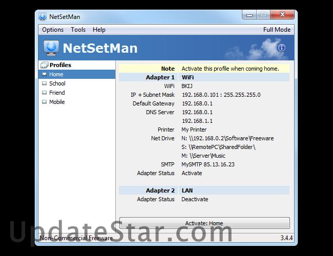 NetSetMan 4.5.0
