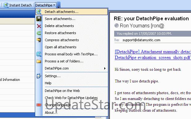 DetachPipe 8.0