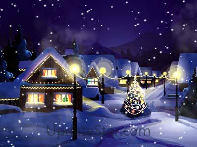 Christmas Snowfall Screensaver 1.0