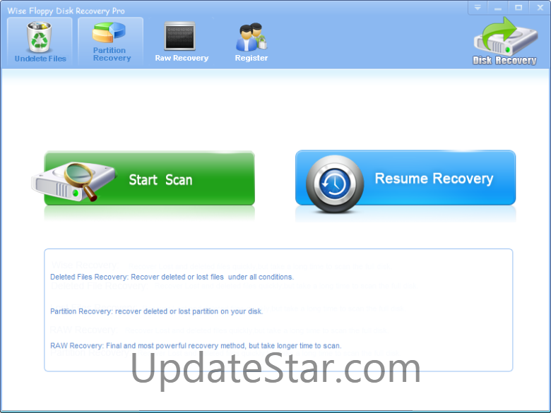 Wise Floppy Disk Recovery Pro