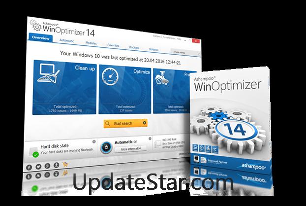 Ashampoo WinOptimizer 15.0.4