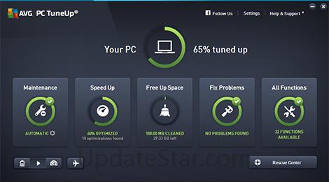 AVG PC Tuneup 16.75.3.10304