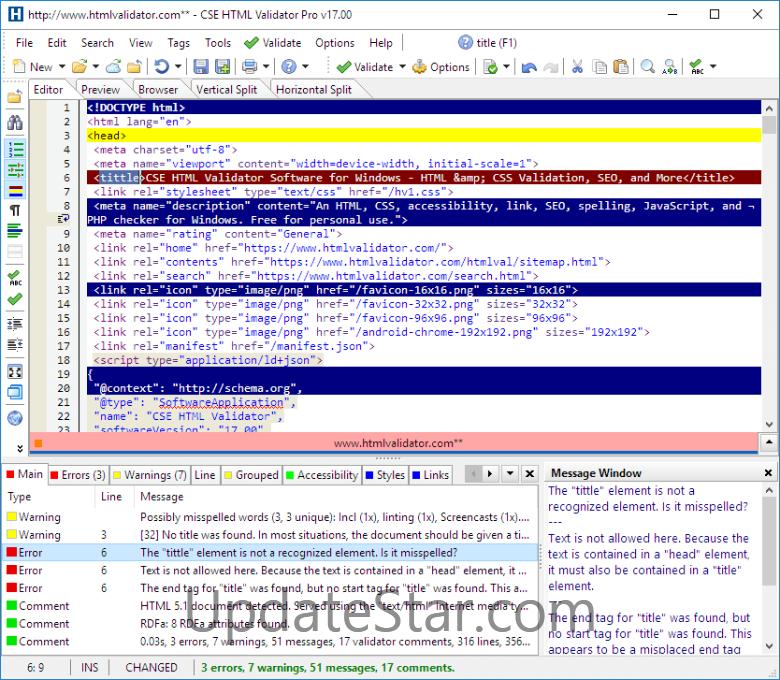 CSE HTML Validator Professional 17.500