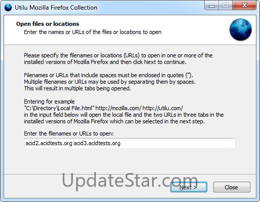 Utilu Mozilla Firefox Collection 1.1.8.7