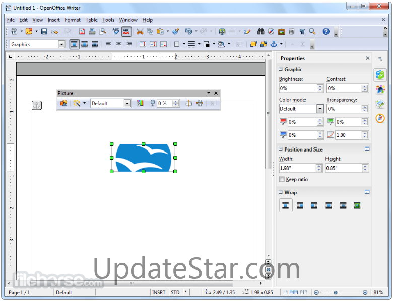 Apache OpenOffice 4.1.4
