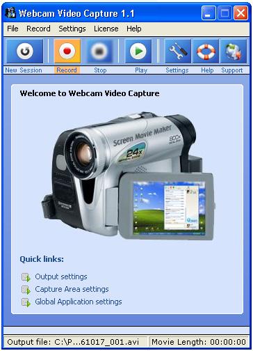Webcam Video Capture 6.645