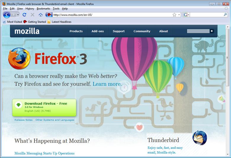 Mozilla Firefox 57.0.2